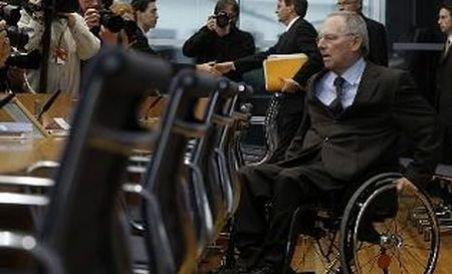 Ministrul german de Finanţe, spitalizat pentru circa patru săptămâni