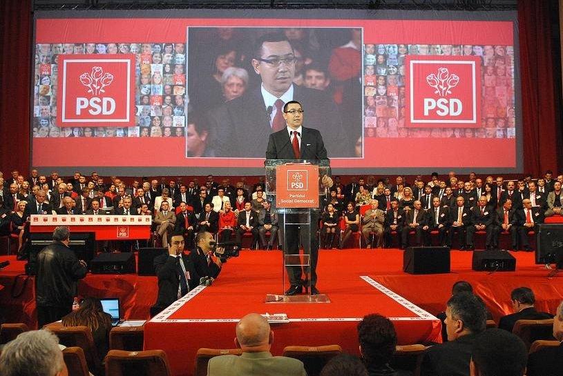 Congresul PSD a adoptat modificările la statutul partidului şi programul de guvernare