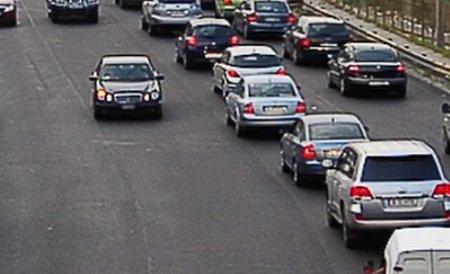 Restricţii de trafic în Capitală din cauza mitingului sindicatelor. Vezi pe unde se poate circula