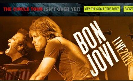 E oficial: Bon Jovi va concerta la Bucureşti în iulie
