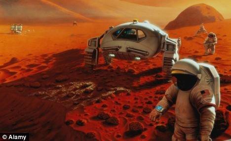 NASA vrea să trimită astronauţi pe Marte şi să-i lase acolo