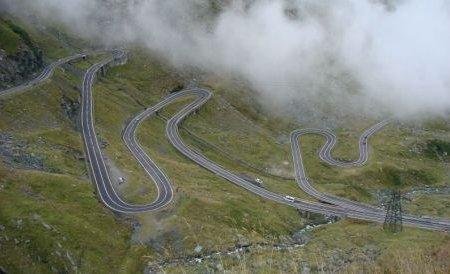 Traficul pe Transfăgărăşan, între Piscu Negru şi Cabana Bâlea Cascadă, va fi închis de la 1 noiembrie