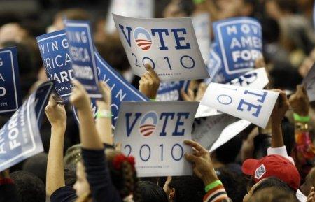 Alegeri legislative în SUA. Obama: Este un scrutin dificil
