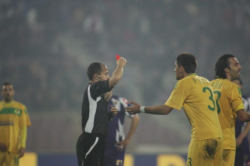 FC Timişoara - FC Vaslui 2-1. Două eliminări şi multe proteste