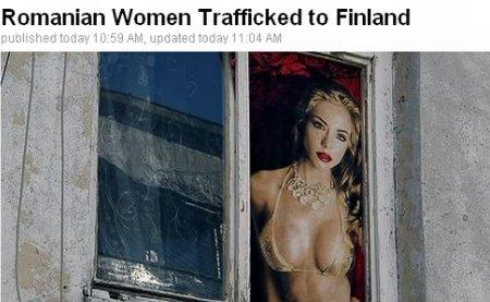 Tot mai multe românce practică prostituţia în Finlanda