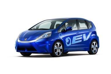 Honda a prezentat la Los Angeles FIT EV, un concept electric