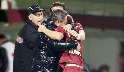 Rapid a revenit pe calea cea bună: 3-0 cu Universitatea Cluj