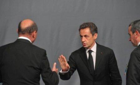 Presa străină, despre reacţia lui Sarkozy faţă de Băsescu: Un refuz brutal
