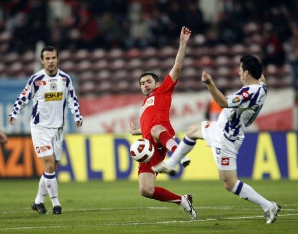 FC Timişoara termină turul pe locul doi, după 0-0 la Dinamo