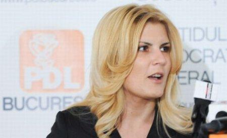 Elena Udrea: Dacă aş fi mamă, nu aş putea sta departe de muncă mai mult de câteva luni