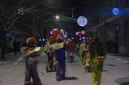 Deva. Sărbătoare cu peste 100 de clovni în centrul oraşului