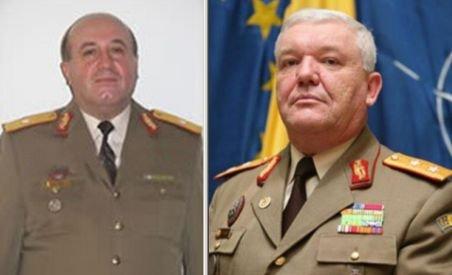 Generalii Mihai Chiriţă şi Ion Marian, cercetaţi pentru corupţie în MapN, vor fi arestaţi