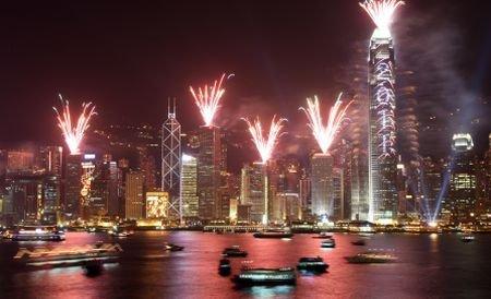 Locuitorii din Noua Zeelandă, Australia şi China au intrat în 2011. Vezi cum au întâmpinat noul an