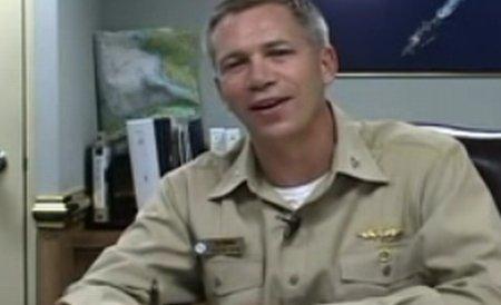 Căpitanul unui portavion american, protagonistul unui material video scandalos
