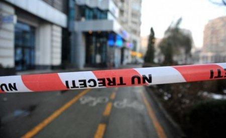 Tentativă de jaf la o bancă din Târgu Mureş. Doi bărbaţi l-au lovit pe paznic, dar nu au reuşit să fugă cu banii