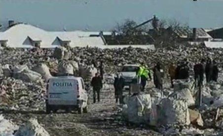 Cadavrul decapitat al unui bărbat, descoperit la groapa de gunoi din Lugoj