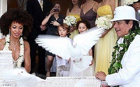 Santana s-a căsătorit: Ceremonia a avut loc în decembrie, pe insula Maui