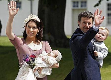 Prinţesa Mary a Danemarcei a născut gemeni, un băieţel şi o fetiţă