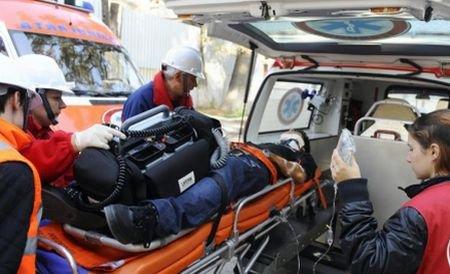 Braşov. Copil de 11 ani, în comă după un grav accident rutier