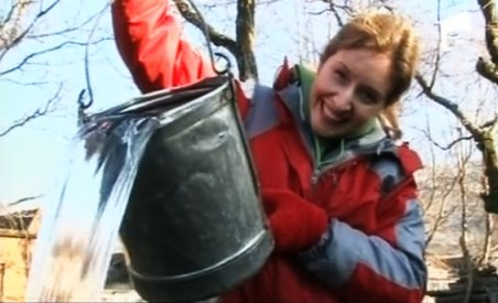 O soprană de succes din SUA trăieşte într-un sat din Hunedoara