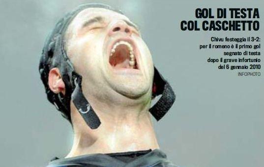 """Inter - Cesena 3-2: Chivu aduce victoria printr-un """"gol cu cascheta"""""""