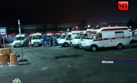 Atentat terorist la principalul aeroport din Moscova: 35 de oameni au murit, 170 au fost răniţi