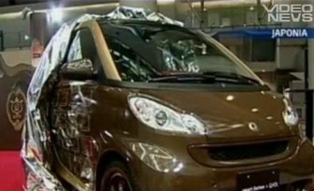 Japonia. Mercedes lansează un Smart ciocolatiu, de ziua îndrăgostiţilor