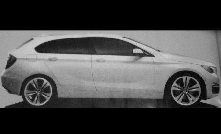 BMW Seria1 GT, prezentat într-o imagine scăpată pe net