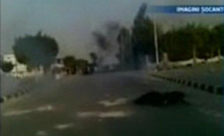 Imagini şocante: Tânăr împuşcat mortal în timpul protestelor din Egipt