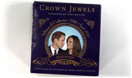 Prezervative cu efigia prinţului William şi a logodnicei sale, lansate în Marea Britanie