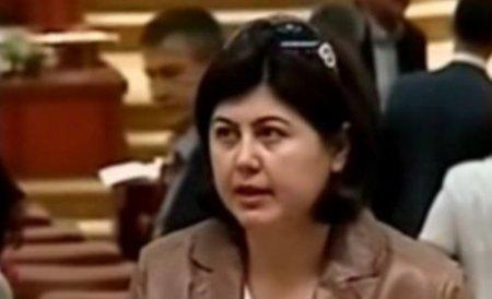 Liana Dumitrescu a fost înmormântată: Peste 200 de oameni au participat la slujbă