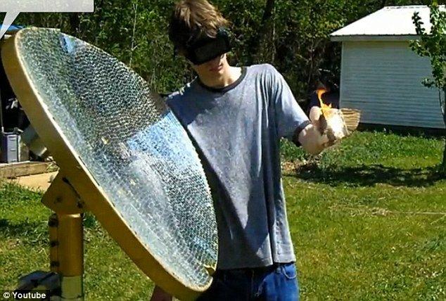 Raza morţii: Un tânăr american a creat un dispozitiv cu ajutorul căuia poate topi orice metal