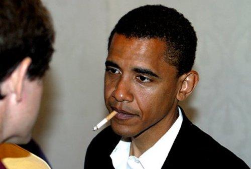 Barack Obama a câştigat lupta cu fumatul, viciu pe care-l are din adolescenţă