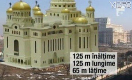 Se lucrează de zor la Catedrala Mântuirii Neamului. Clădirea va fi mai înaltă decât Palatul Parlamentului