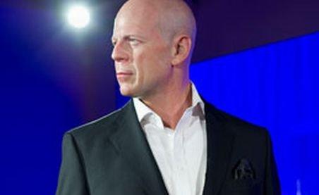 Statuia de ceară a lui Bruce Willis, expusă la muzeul Madame Tussauds