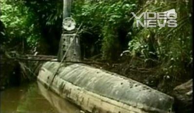 Submarinul, mijlocul de transport preferat al traficanţilor de droguri columbieni