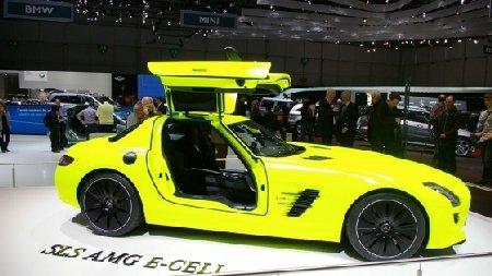Premiile TopGear Geneva - 2011: Mercedes-Benz SLS AMG E-Cell