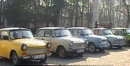 Parada maşinilor Trabant, în parcul Carol din capitală
