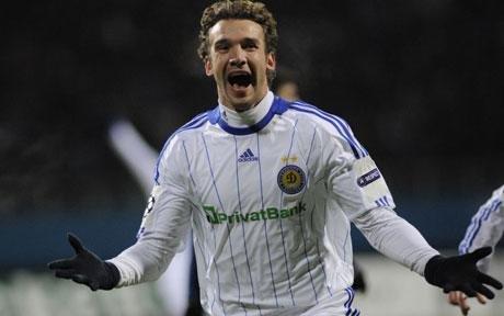 Europa League: Dinamo Kiev câştigă cu 2-0 în faţa lui Manchester City