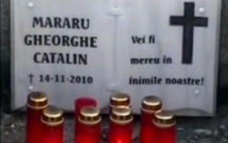 Monument pentru interlop: Placă comemorativă, în locul în care a fost împuşcat Gheorghe Mararu