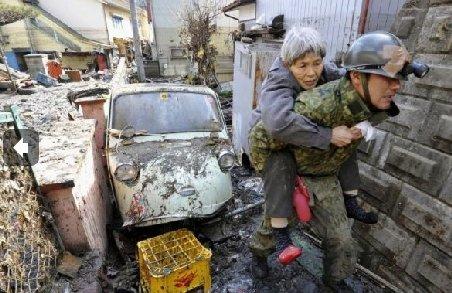 Dezastrul din Japonia, pe internet: Imagini cu tsunami-ul care i-a îngenuncheat pe niponi