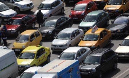 Trafic restricţionat din cauza mitingului în Bucureşti. Vezi zonele afectate