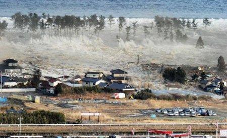 Tsunamiul din Japonia a atins aproape 25 de metri înălţime