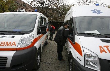 Ambulanţe amendate pentru lipsa rovignetei