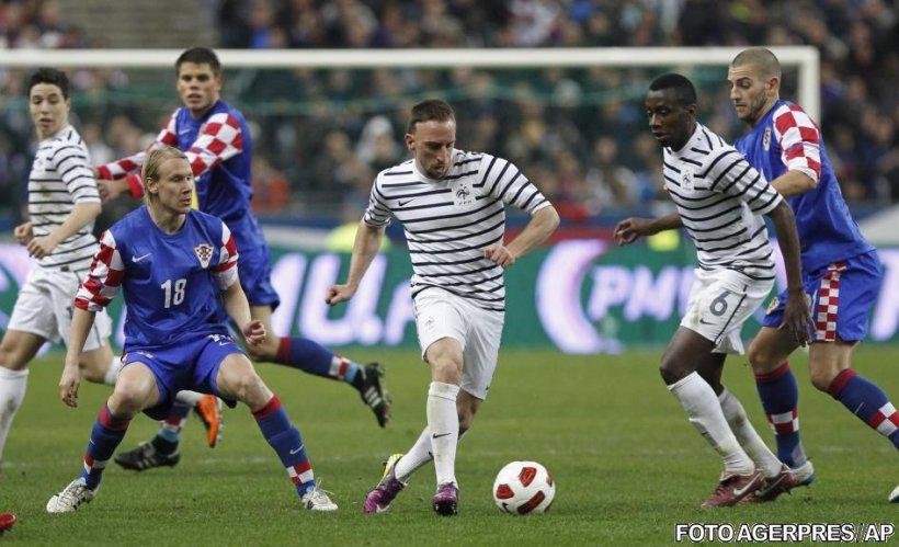 Adversari România: Franţa a remizat pe teren propriu într-un amical cu Croaţia