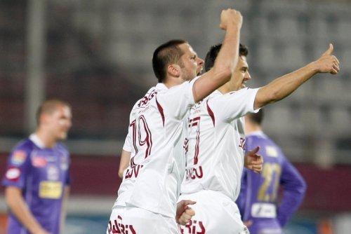 Rapid administrează Timişoarei prima înfrângere a sezonului: 3-2