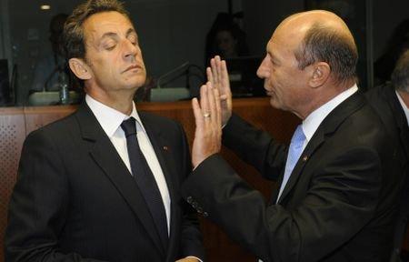 Presa străină: Certurile dintre Băsescu şi Sarkozy, lucru obişnuit la summiturile NATO