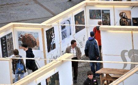 """Muzeu """"labirint"""", în Piaţa Mare din Sibiu"""