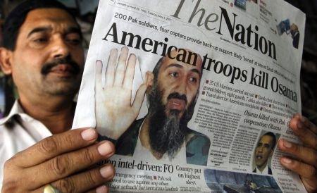 """Osama bin Laden, neînarmat când a fost omorât. Poza cadavrului, """"înfiorătoare"""""""