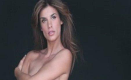 Elisabetta Canalis s-a dezbrăcat pentru PETA